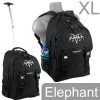 XL Elephant Schultrolley Rucksack Black Tatoo Schulrucksack