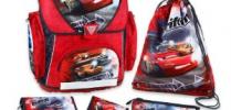 Cars Schulranzen Set Undercover 5-teilig