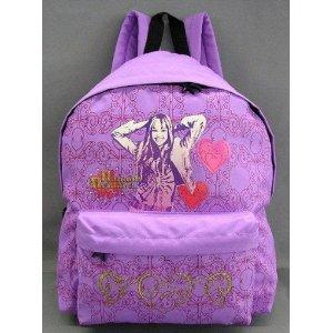 Hannah Montana Rucksack Schulrucksack Ranzen violett Hannah Montana Rucksack Schulrucksack Ranzen violett