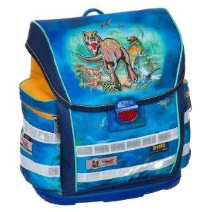 McNeill Kinder Schulranzenset 5tlg.Set Ergo Light 900 34x38x20 cm McNeill Schulranzen Set Dino ERGO Light Compact DIN