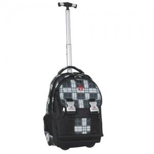 TAKE IT EASY Schulrucksack Trolley PLAID Ranzen 300x300 Take ist Easy Schulrucksack Trolley Plaid Ranzen schwarz grau